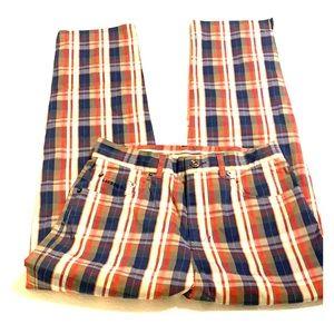 Ralph Lauren Christmas Plaid  Pants EUC Size 4